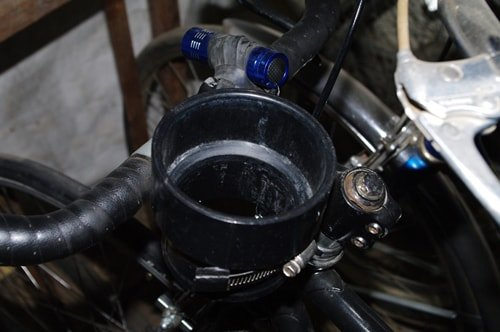 cheap diy bike cup holder
