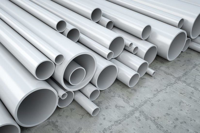 Different Sizes PVC Pipes