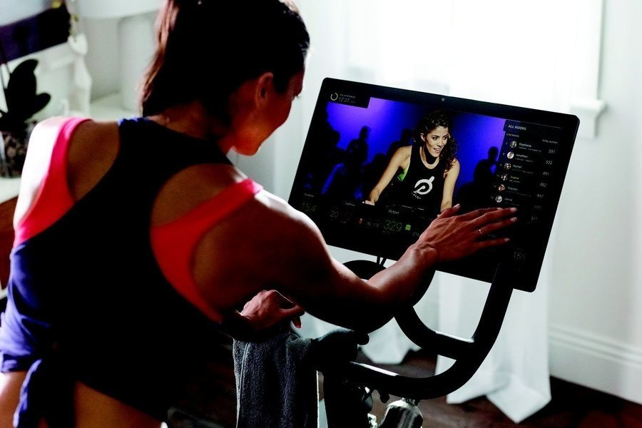 Peloton Workout Classes Streamed on Builtin Monitor