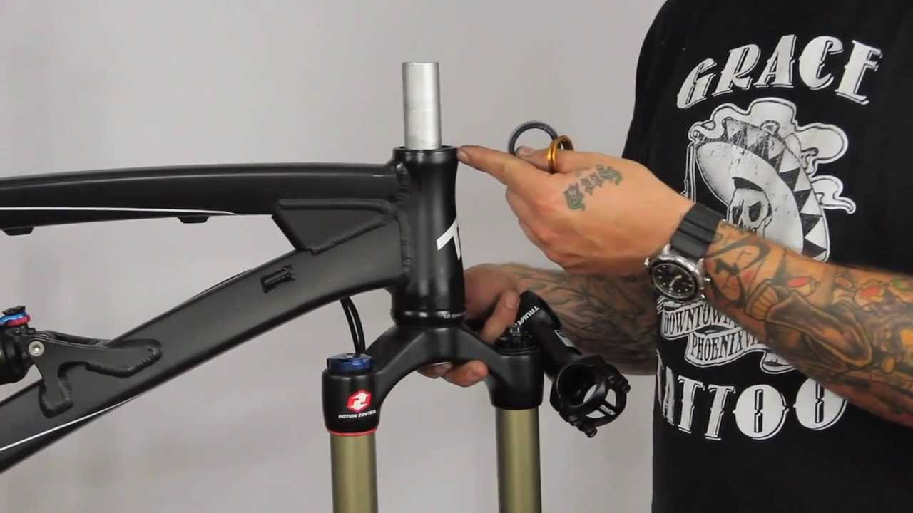 adjusting the handlebars
