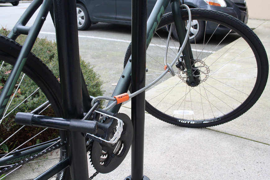 Bike Lock and Cables