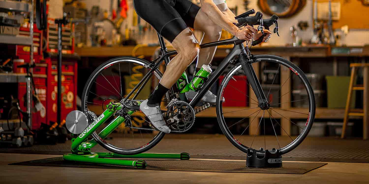 Kinetic Smart Control Trainer for indoor biking