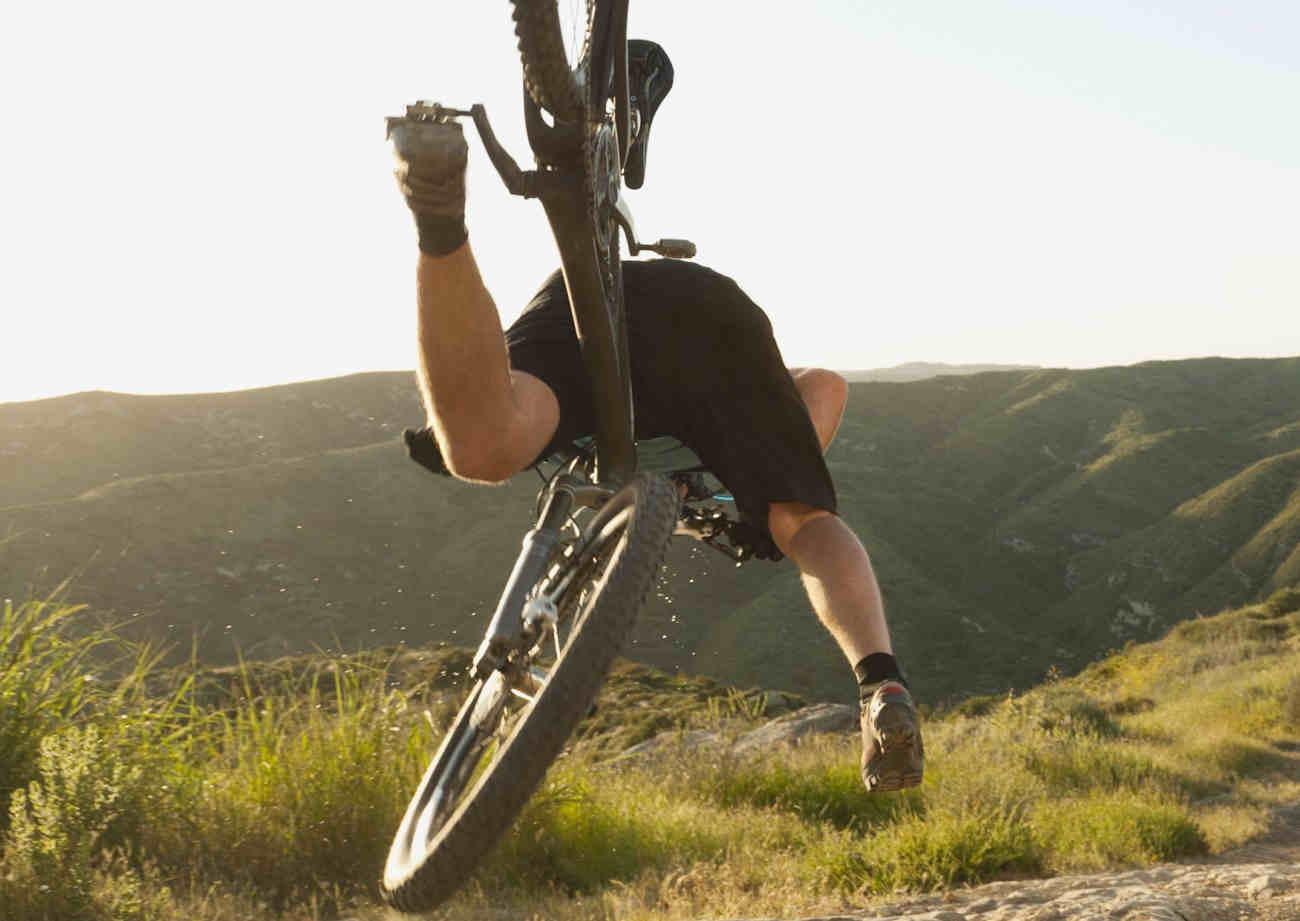 bicycle stumble