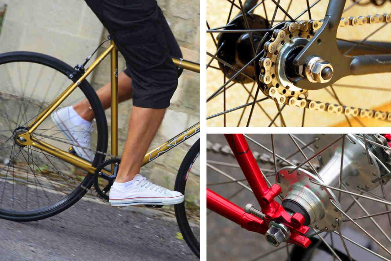 fixie bike components