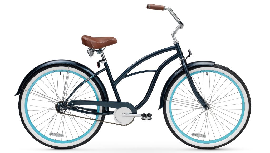 sixthreezero Serenity Women's 26 inch Single Speed Beach Cruiser Bicycle