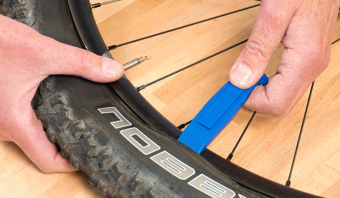 Mountain Bike Tire Removal