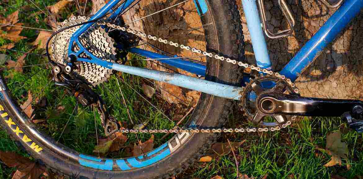 Muddy Mountain Bike Tire