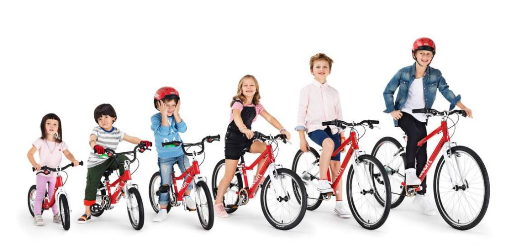 Right Sized Bikes According to Age and Height