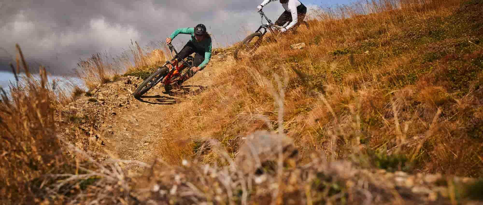 hardtail mountain biking