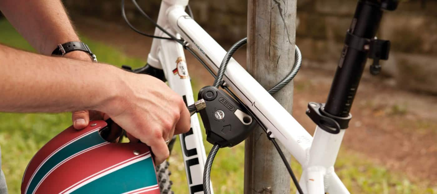 picking a bycicle lock