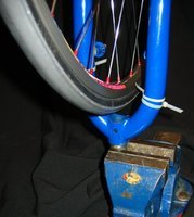 diy truing stand
