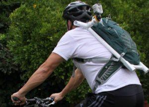 PVC backpack mount