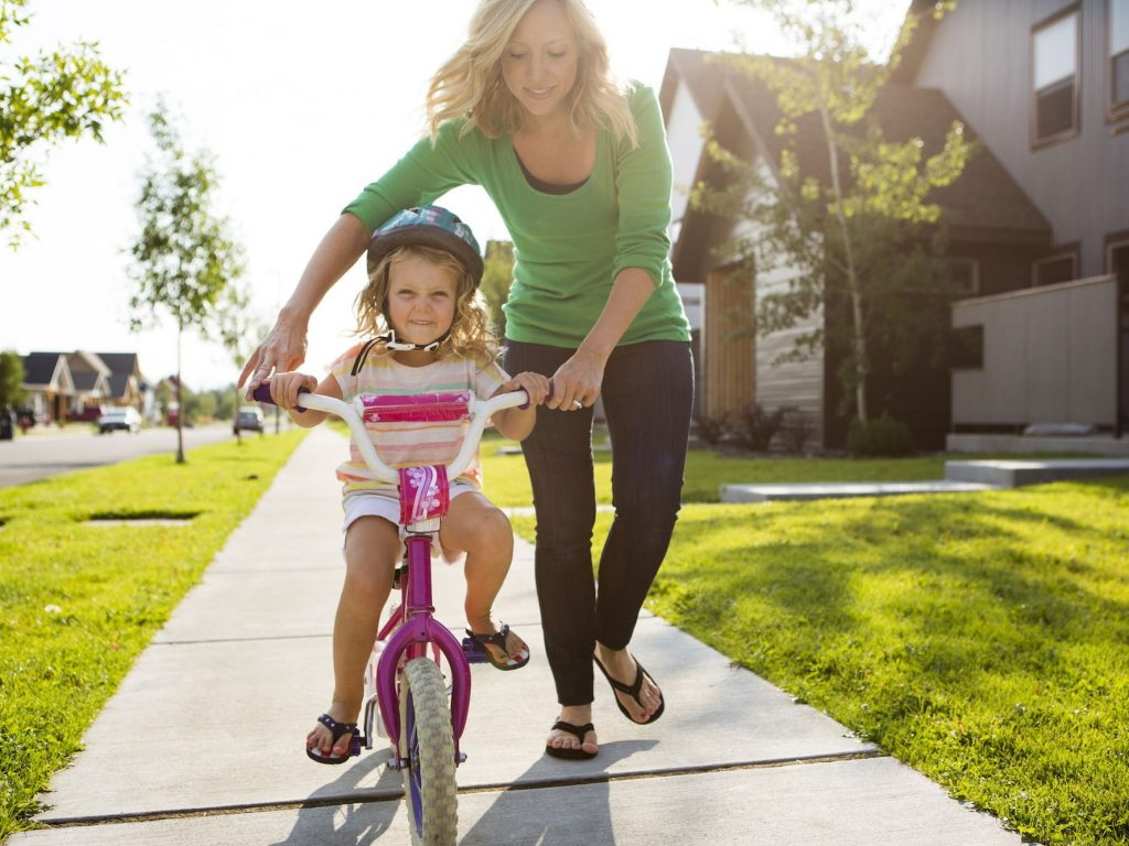 the first bike ride