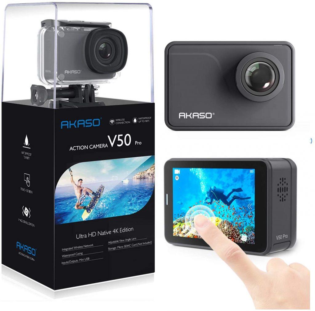 AKASO V50 Pro Native 4K30fps 20MP WiFi Action Camera